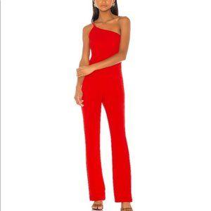 Revolve NBD Mariella Jumpsuit in Red